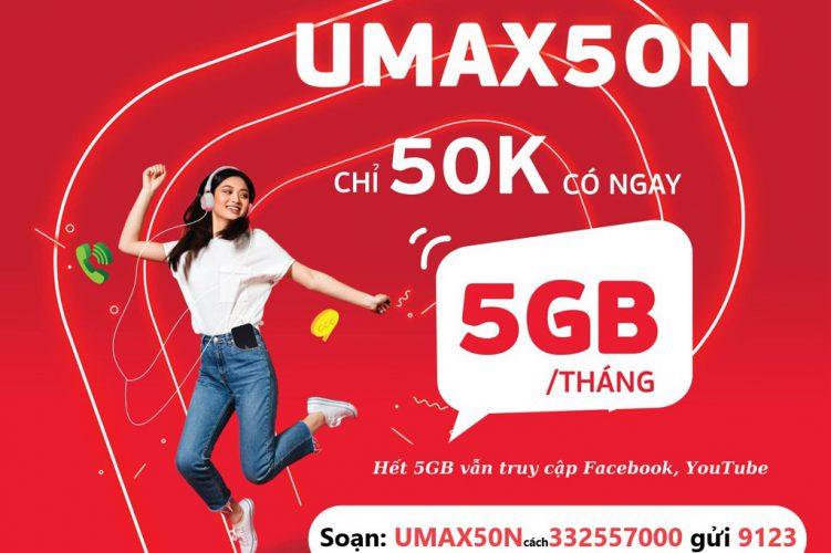 Umax50N (siêu data)